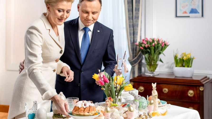 Agata Kornhauser-Duda i Andrzej Duda (fot. KPRP/Jakub Szymczuk)
