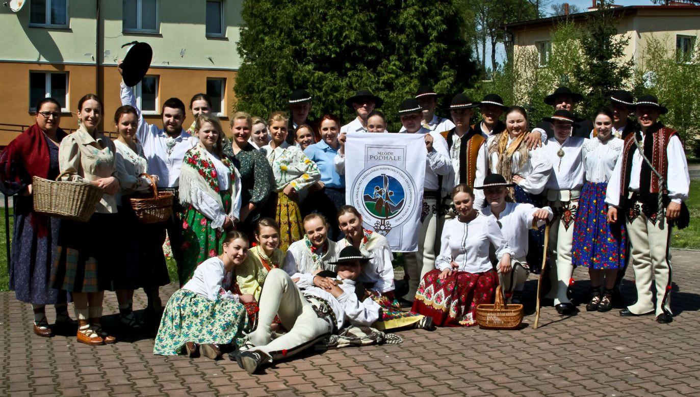 Zespół Młode Podhale otrzymał Złotą Ciupagę (fot. materiały prasowe/Anna Karpiel)