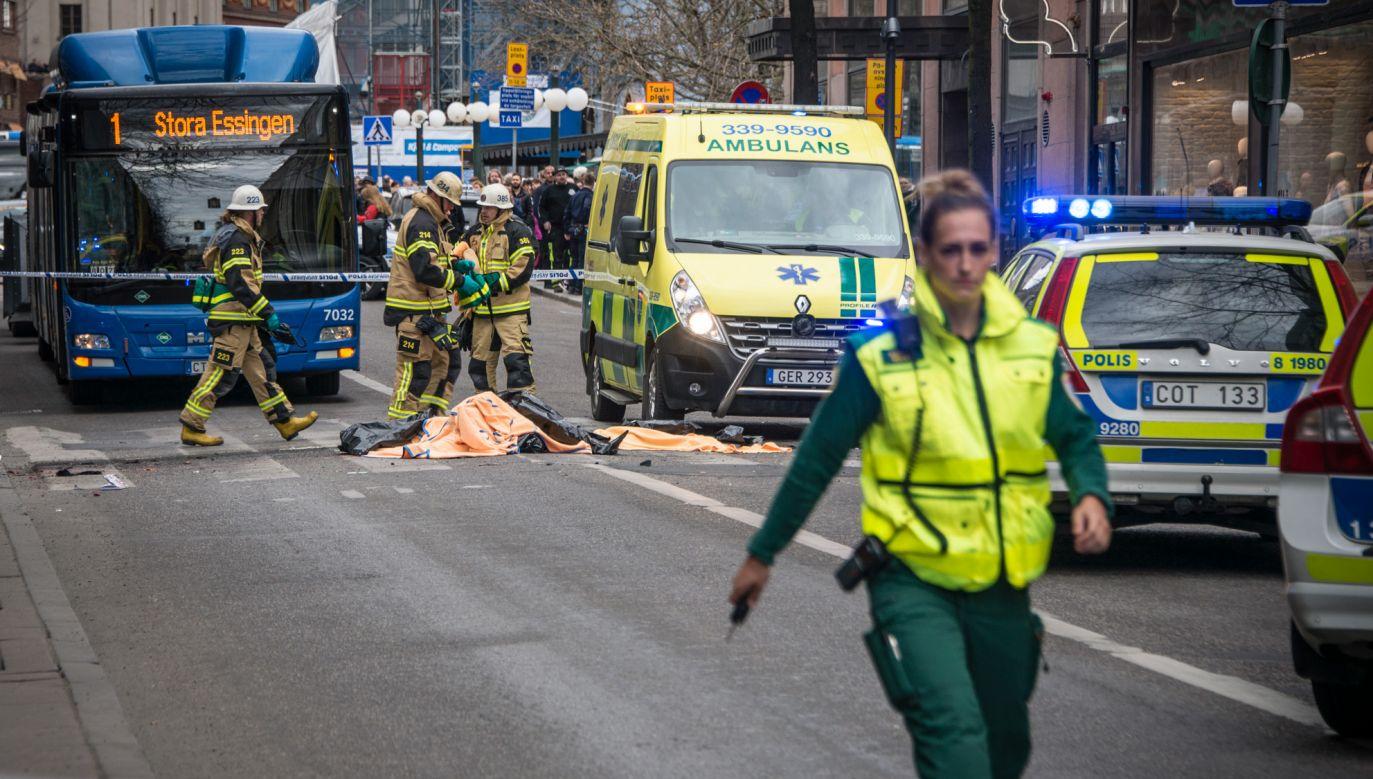 Co najmniej jeden z zatrzymanych w toku śledztwa miał związek z Rachmatem Akiłowem, który odsiaduje wyrok dożywocia za zamach w Sztokholmie z kwietnia 2017 r. (fot. ro.wikipedia.org/Frankie Fouganthin)