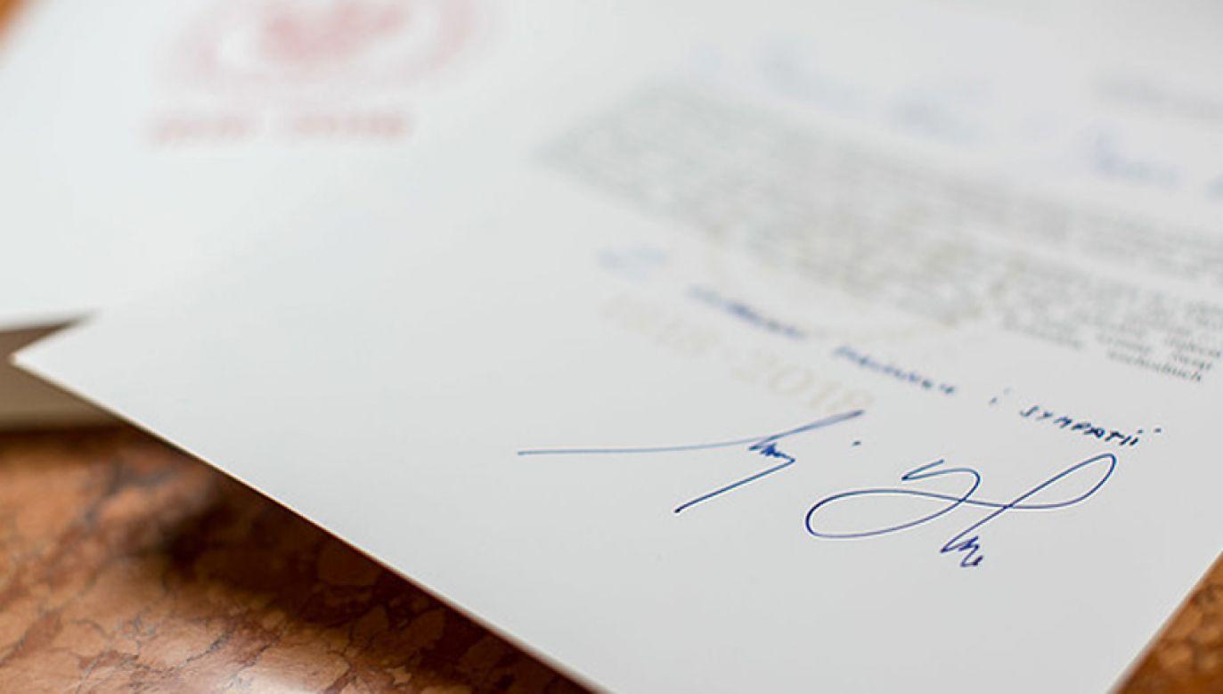 Prezydent napisał list do uczestników II Kongresu Ruchu Europa Christi (fot. KPRP/Krzysztof Sitkowski)