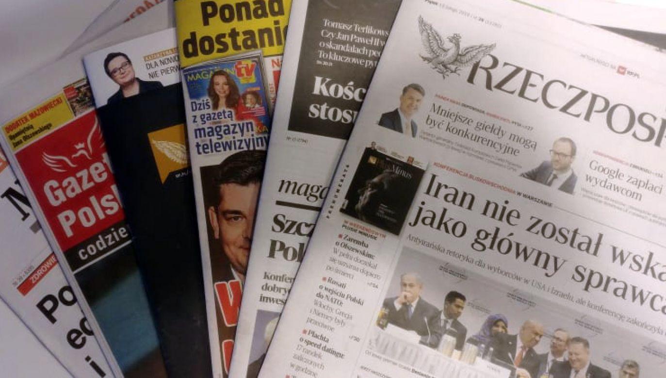 Dużo miejsca poświęcono wspomnieniom premiera Jana Olszewskiego (fot. tvp.info)