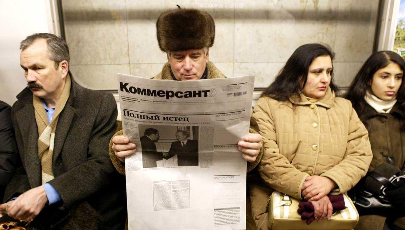 """Kryzys w """"Kommiersancie"""" rozwijał się stopniowo od poniedziałku, gdy ogłoszono, że z redakcji musieli odejść dwaj dziennikarze (fot. REUTERS)"""