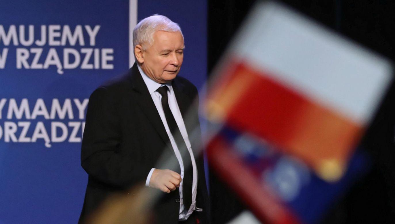 Partia Jarosława Kaczyńskiego zdominowała wybory m.in. na Podkarpaciu (fot. PAP/Jakub Kamiński)