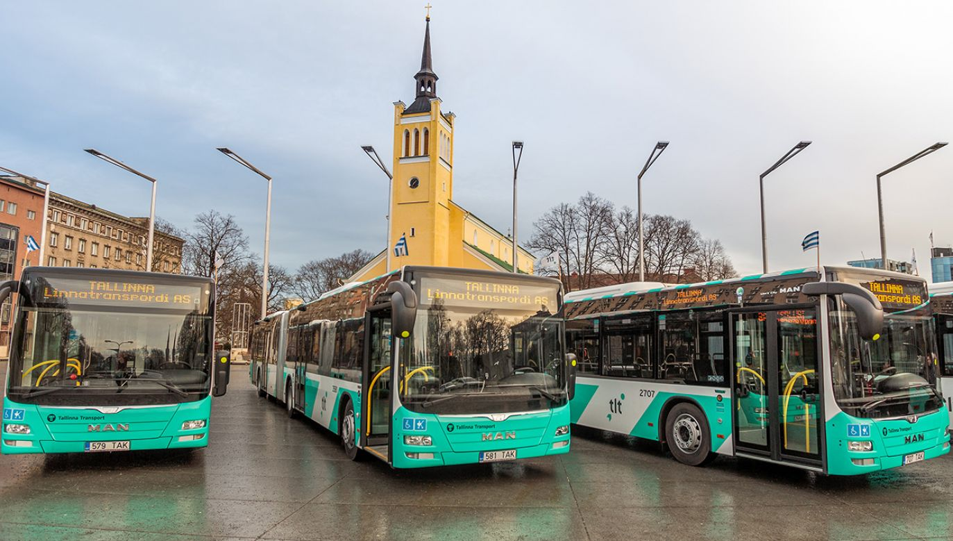 Od 2013 r. nieodpłatny jest transport publiczny w Tallinie (fot. Shutterstock/OmaPhoto)