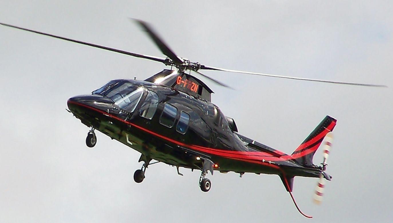 Helikopter pogotowia typu AgustaWestland AW109S Grand rozbił się w górach Sierra de Pias (zdjęcie ilustracyjne) (fot. wikimedia commons/Mark Harkin)
