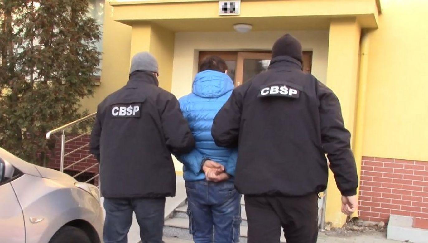 Policja w swoim komunikacie podkreśliła, że nie wyklucza kolejnych zatrzymań (fot. cbsp.policja.pl)