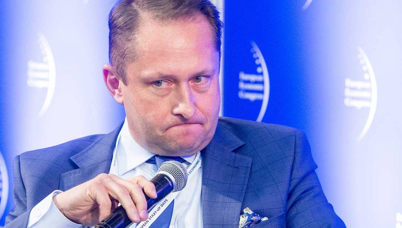 Dziennikarz Kamil Durczok (fot. arch. PAP/Andrzej Grygiel)