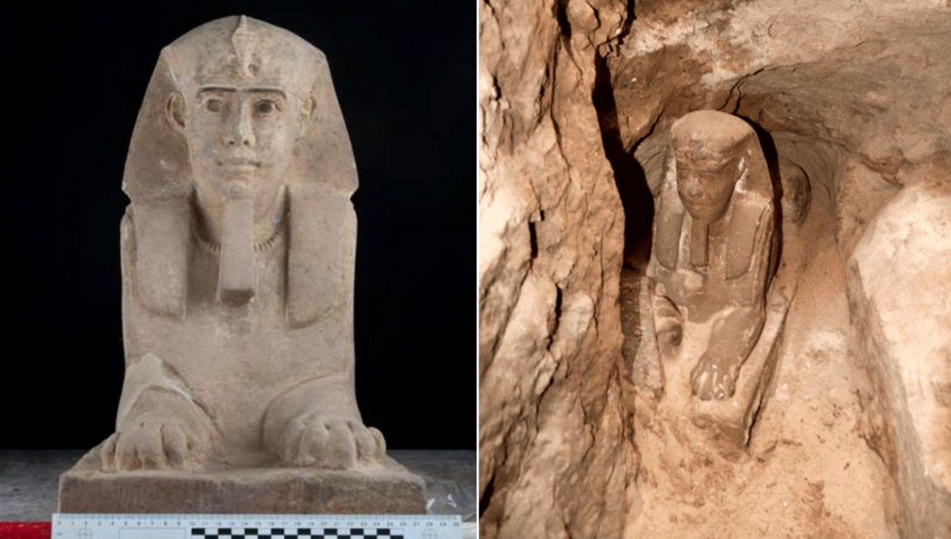Odkrycia dokonano na terenie świątyni w Kom Ombo w prowincji gubernatorskiej Asuan (fot. TT/ 104.2 Nile FMK/ Museum Archive)