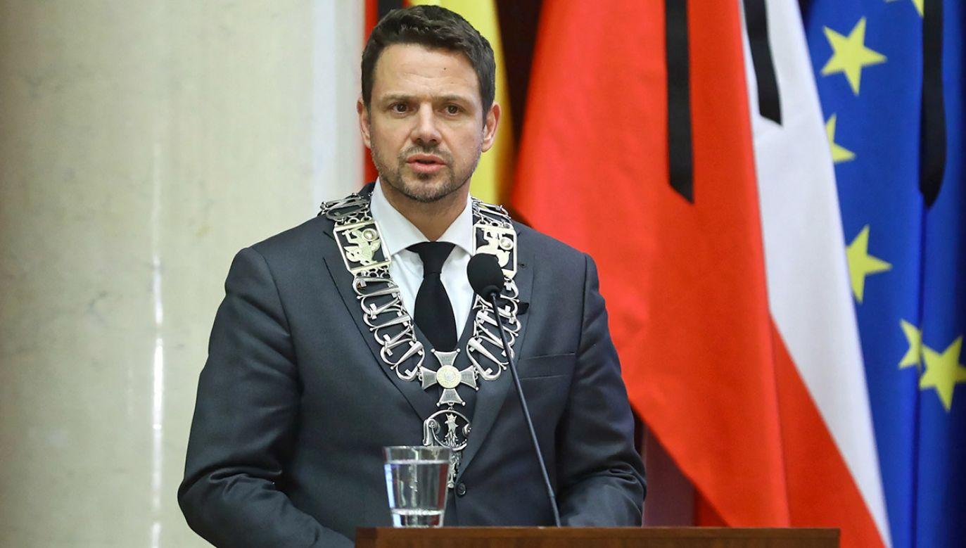 Rafał Trzaskowski (fot. PAP/Rafał Guz)
