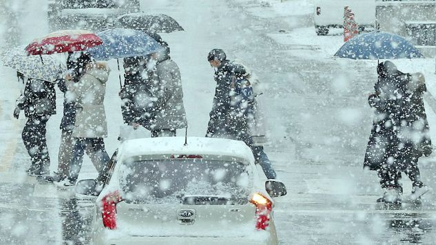 Należy spodziewać się m.in. utrudnień w ruchu drogowym (fot. PAP/EPA)