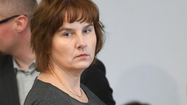 Przed rokiem Magda Brzeska zeznawała jako świadek przed komisją weryfikacyjną (fot. PAP/Paweł Supernak)