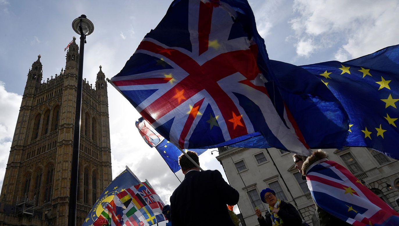 Theresa May zaznaczyła, że sprzeciwia się dłuższemu opóźnieniu brexitu (fot. REUTERS/Toby Melville)