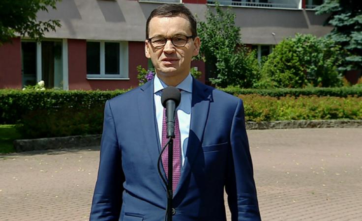 Premier Mateusz Morawiecki odwiedził Podkarpacie