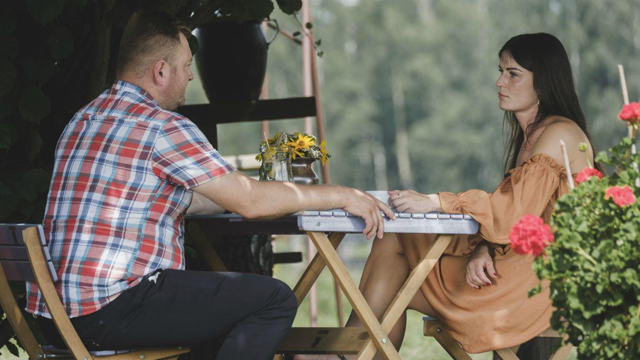 Gdy Łukasz oświadczył, że jego serce jest już zajęte, Paulina poczuła się oszukana (fot. TVP)