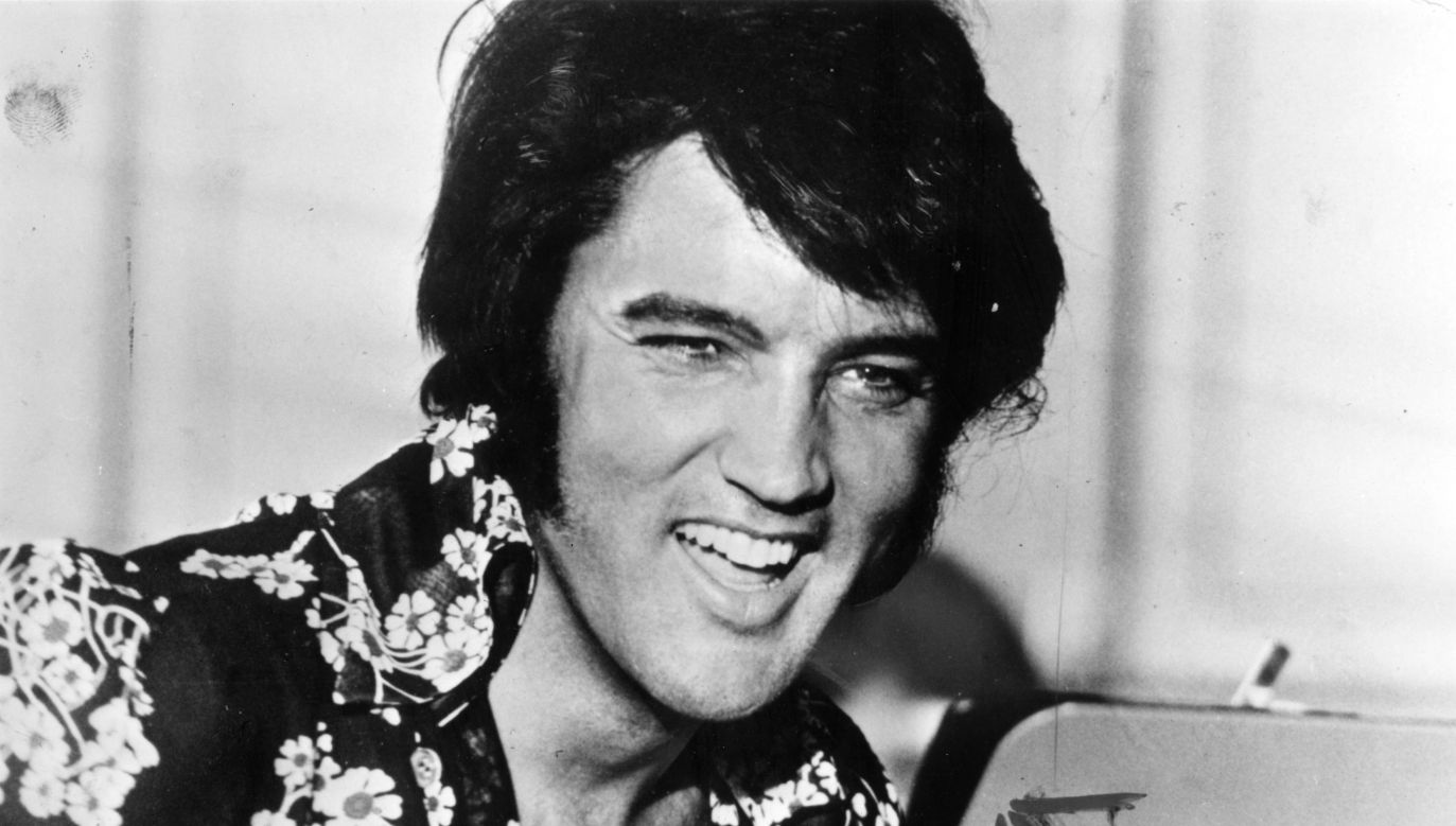 Elvis Presley in the middle of 1970s. Photo: Keystone/Getty Images
