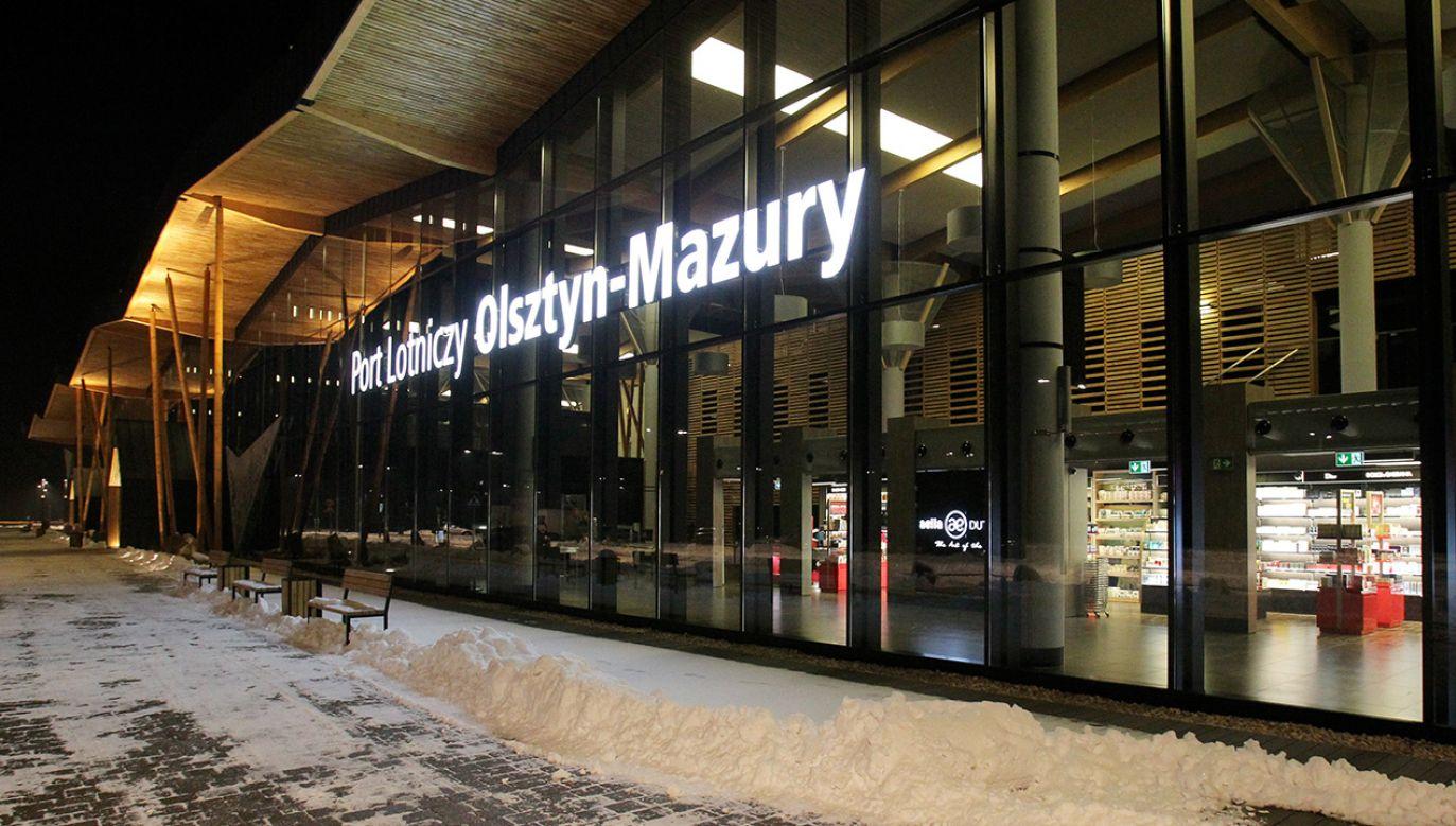 Lotnisko Szymany, woj. warmińsko-mazurskie (fot. arch. PAP/Tomasz Waszczuk)