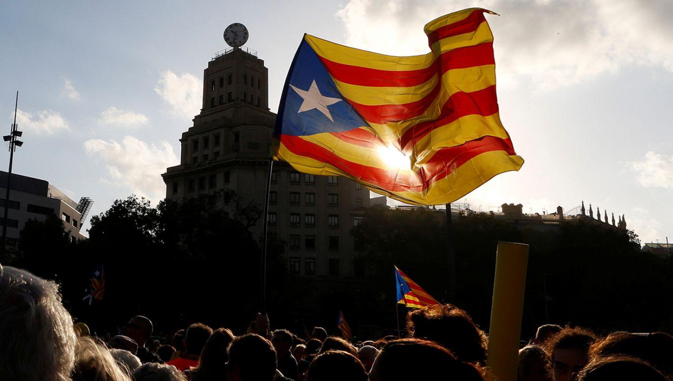Rząd Katalonii wydał zgodę na otwarcie sześciu przedstawicielstw regionu na świecie (fot. REUTERS/Enrique Calvo)