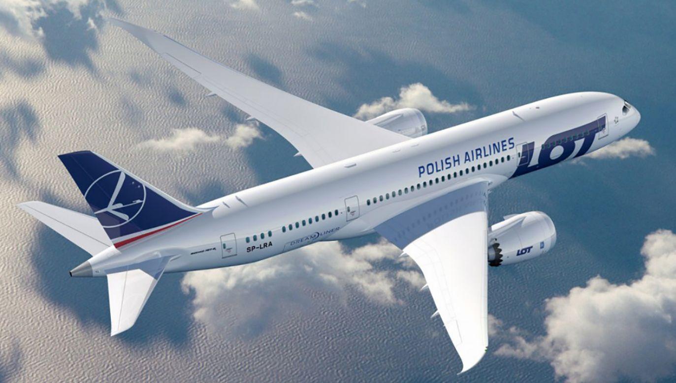 Boeing 787-9 będzie największą maszyna latającą w barwach LOT-u (fot. Materiały prasowe)