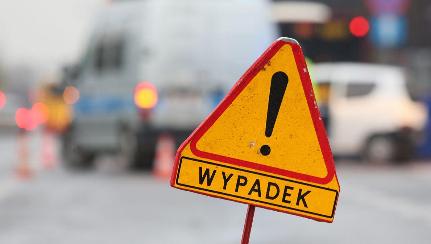 Jedna osoba została ranna (fot. arch.PAP/Leszek Szymański)