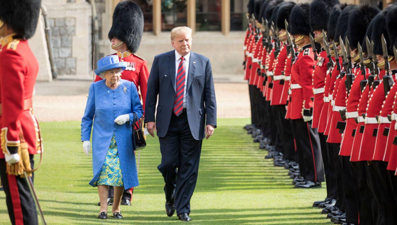 Ubiegłoroczna wizyta Donalda Trumpa w Wielkiej Brytanii nie była wizytą państwową (fot. Richard Pohle - WPA Pool/Getty Images)