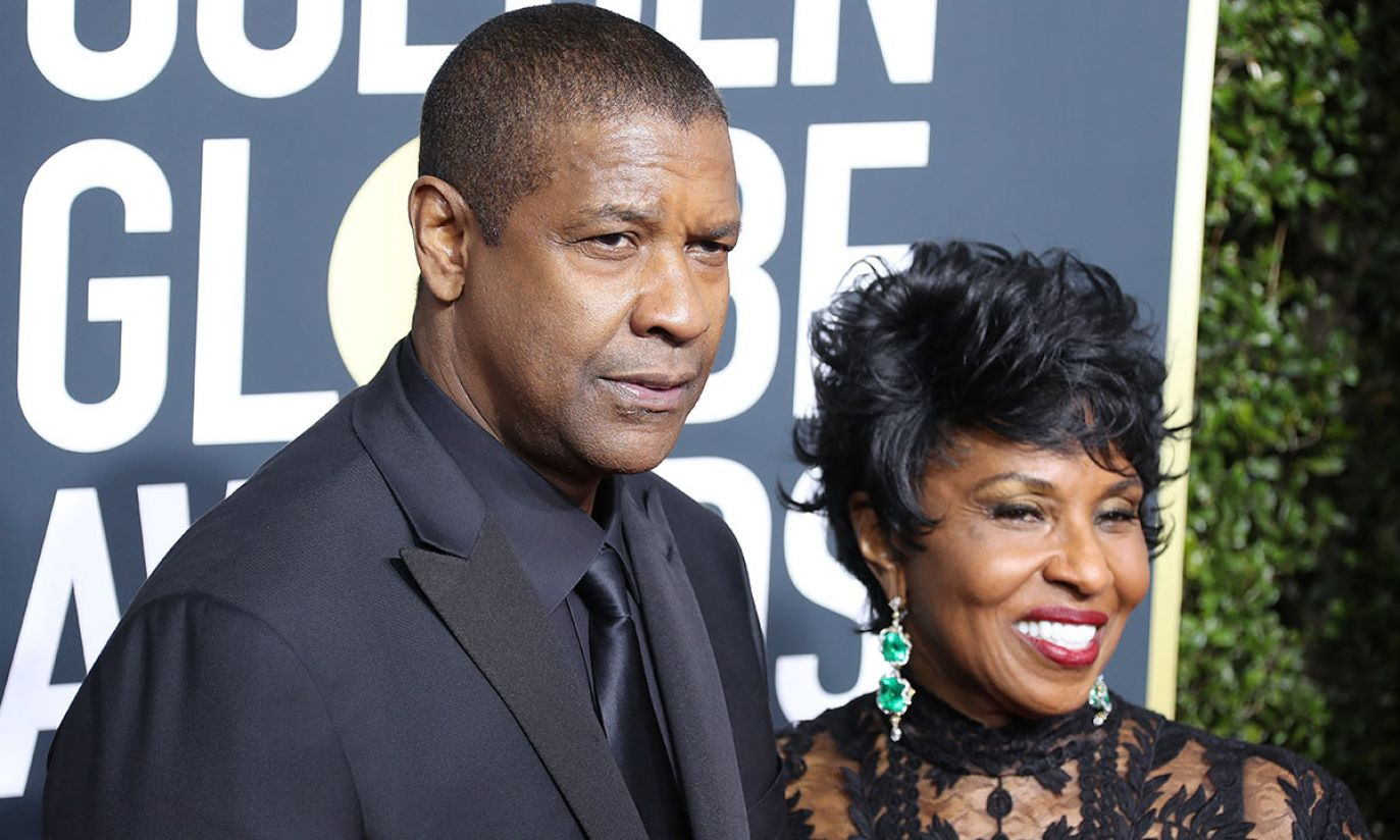 Denzel Washington i Pauletta Washington  (fot. EPA/PAP)