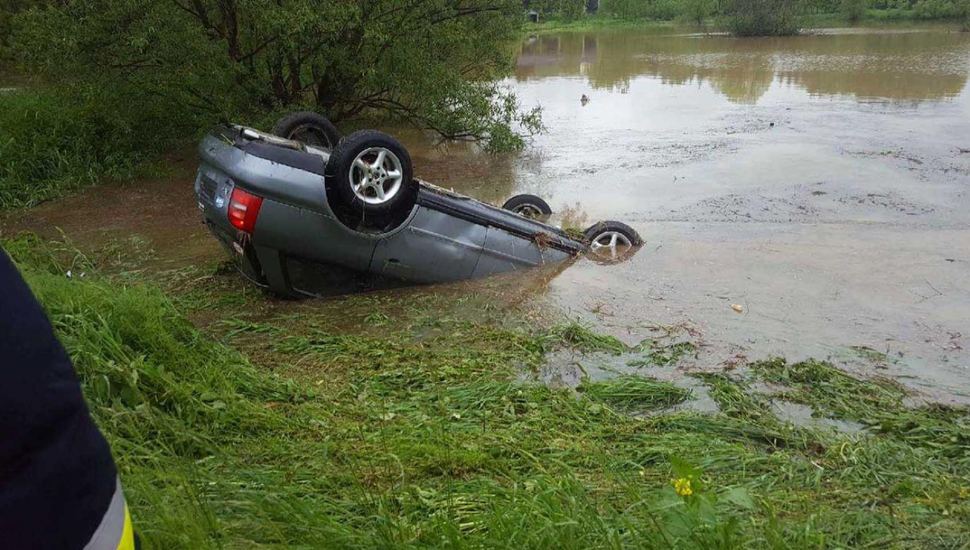 Tym razem pomoc przyszła na czas (fot. policja.gov.pl)