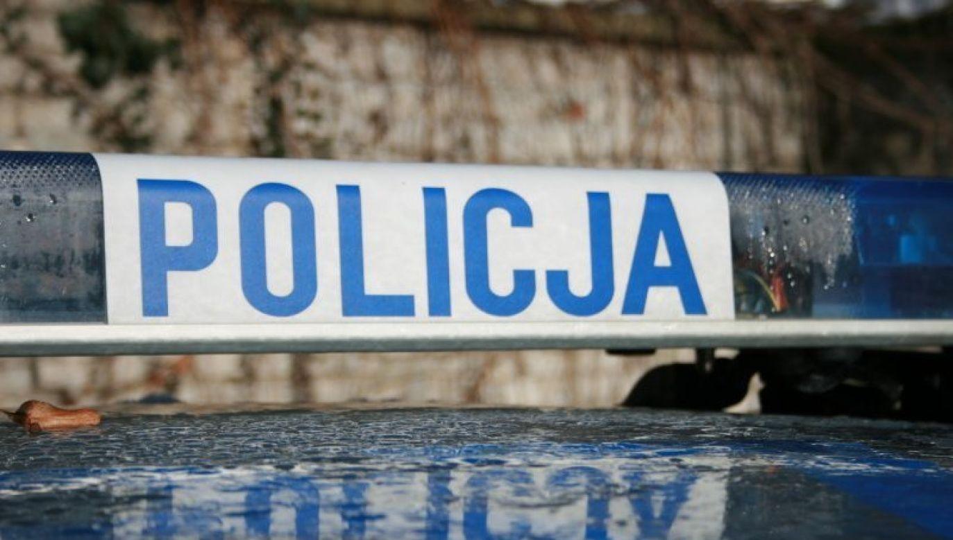 Policja bada okoliczności zdarzenia (fot. Twitter/@PolskaPolicja)