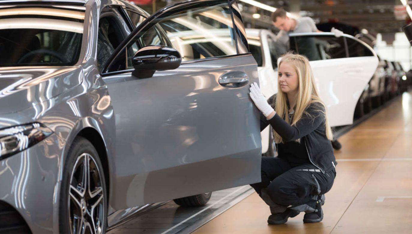 Taryfy dla aut z Unii mają wynieść 25 proc. (fot. mat.pras. Daimler-Benz)