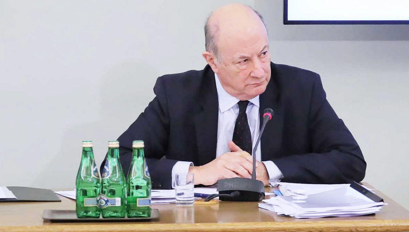 Były minister finansów w rządzie PO-PSL Jan Vincent Rostowski (fot. PAP/Paweł Supernak)