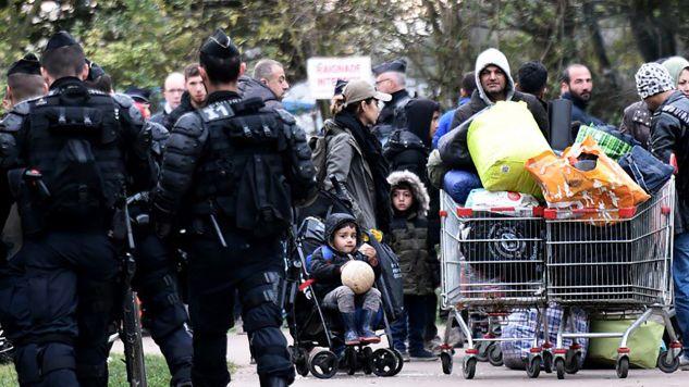 W obozie przebywało ok. 1,8 tys. osób (fot. TT/The Local France )
