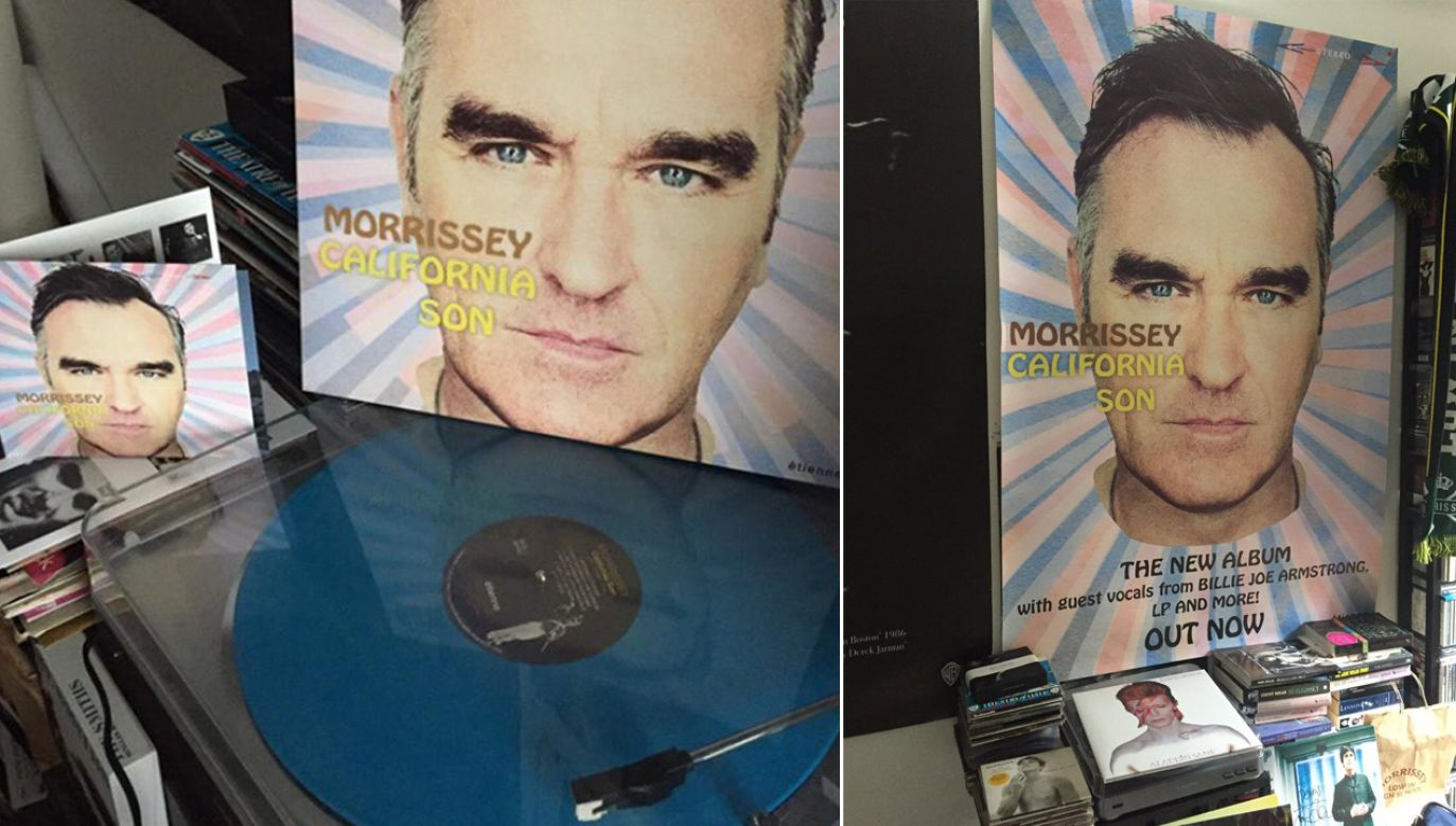 "Usunięte plakaty reklamowały nowy album Morrisseya ""California Son"" (fot. TT/Denis Carroll)"