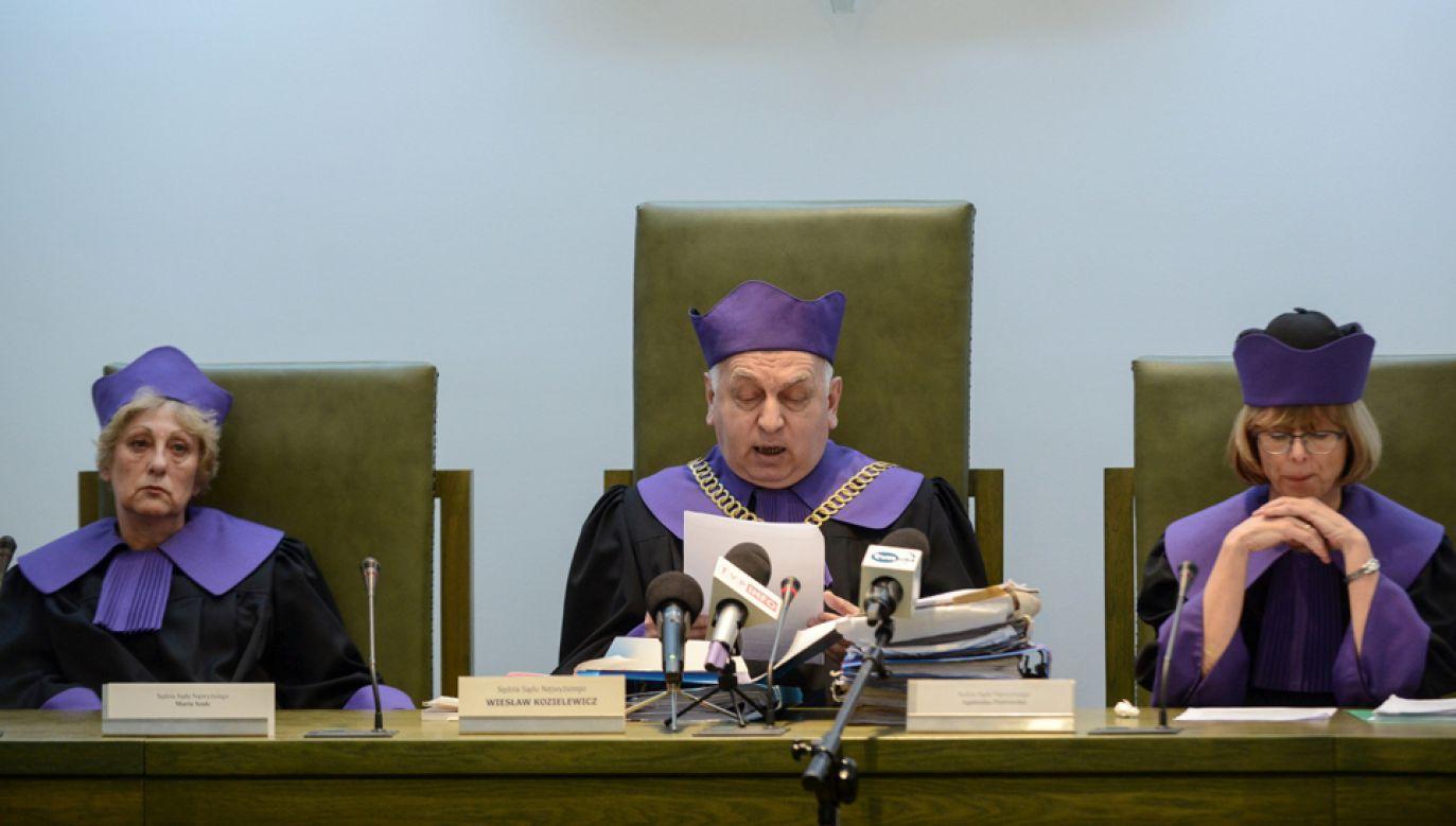 SN uniewinnił  sędziego Mirosława Topyłę, oskarżonego o kradzież 50 zł (fot. PAP/Jakub Kamiński)