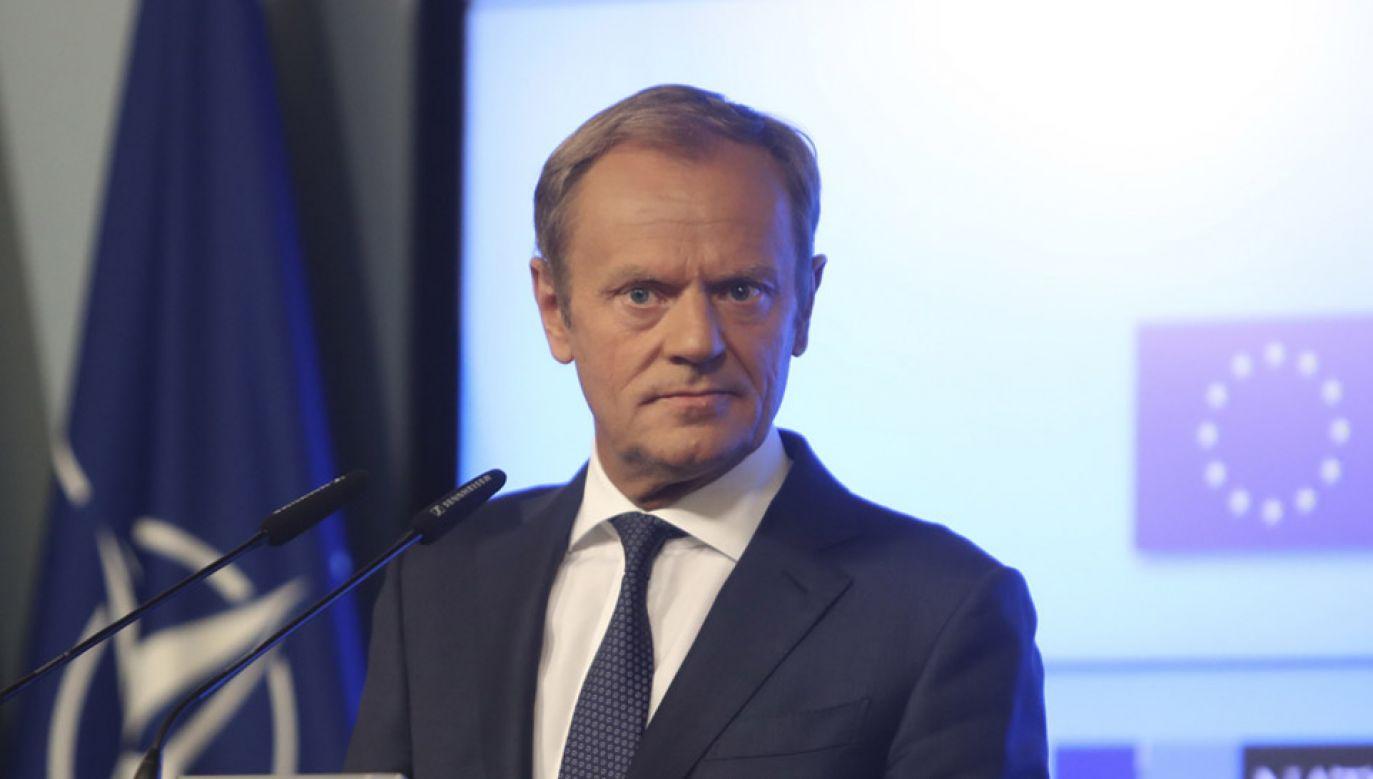 Zdaniem Wassermann przesłuchanie obecnego przewodniczącego Rady Europejskiej może się odbyć po 20 września (fot. PAP/EPA/OLIVIER HOSLET)