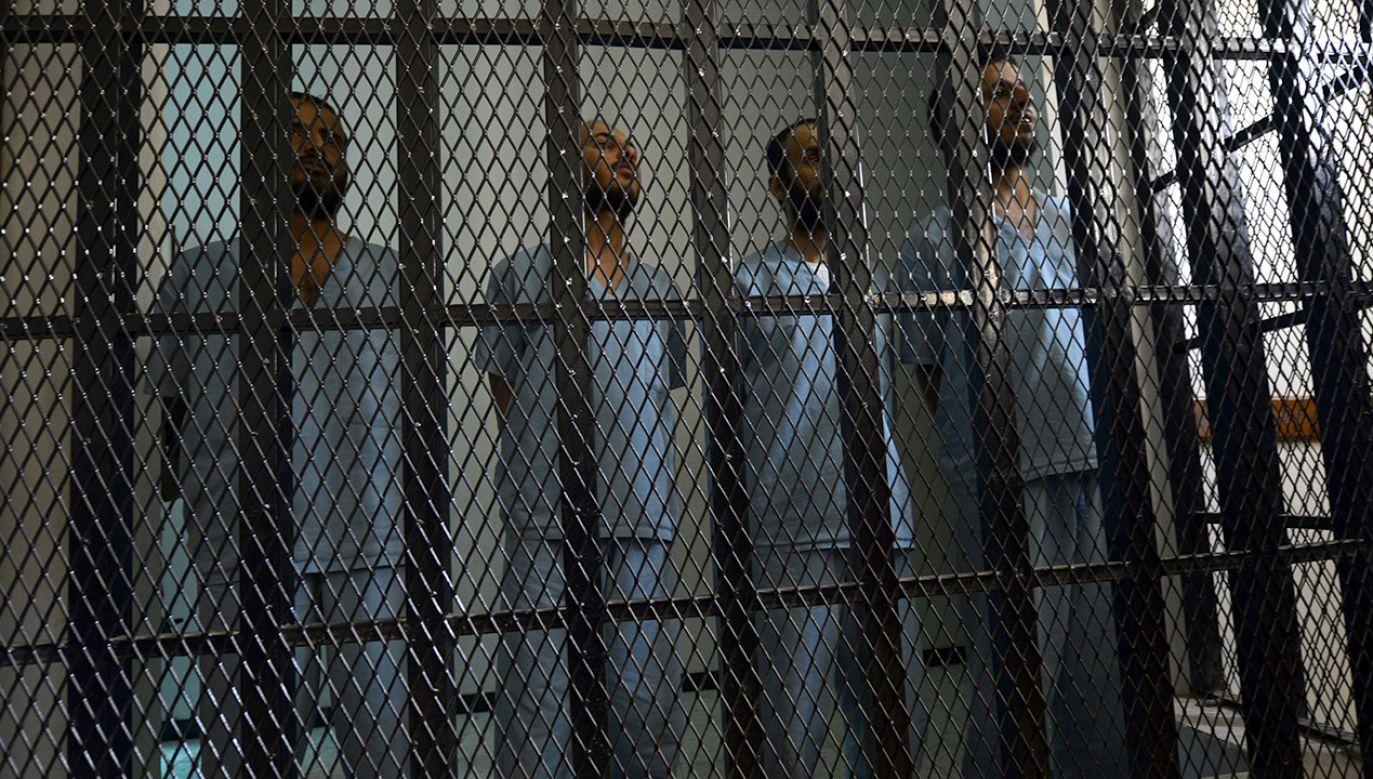 Więzień był jednym z 37 straconych w ramach pierwszej od prawie czterech lat tzw. egzekucji masowej (fot. Mohammed Hamoud/Anadolu Agency/Getty Images)