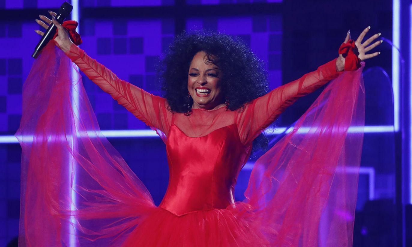 Diana Ross (fot. REUTERS/Mike Blake)