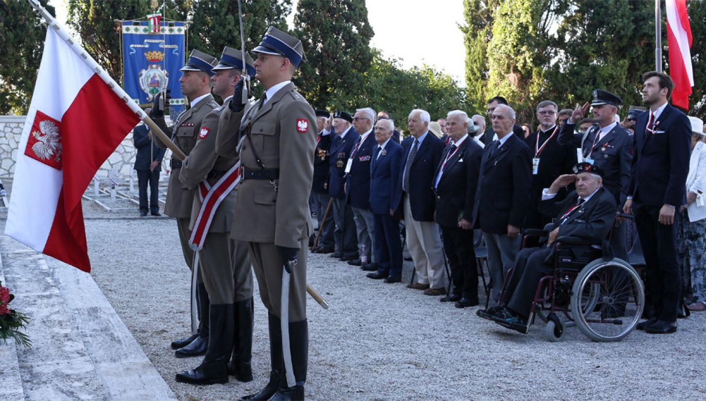 Polscy żołnierze zapisali się w historii Włoch (fot. PAP/Adam Guz)