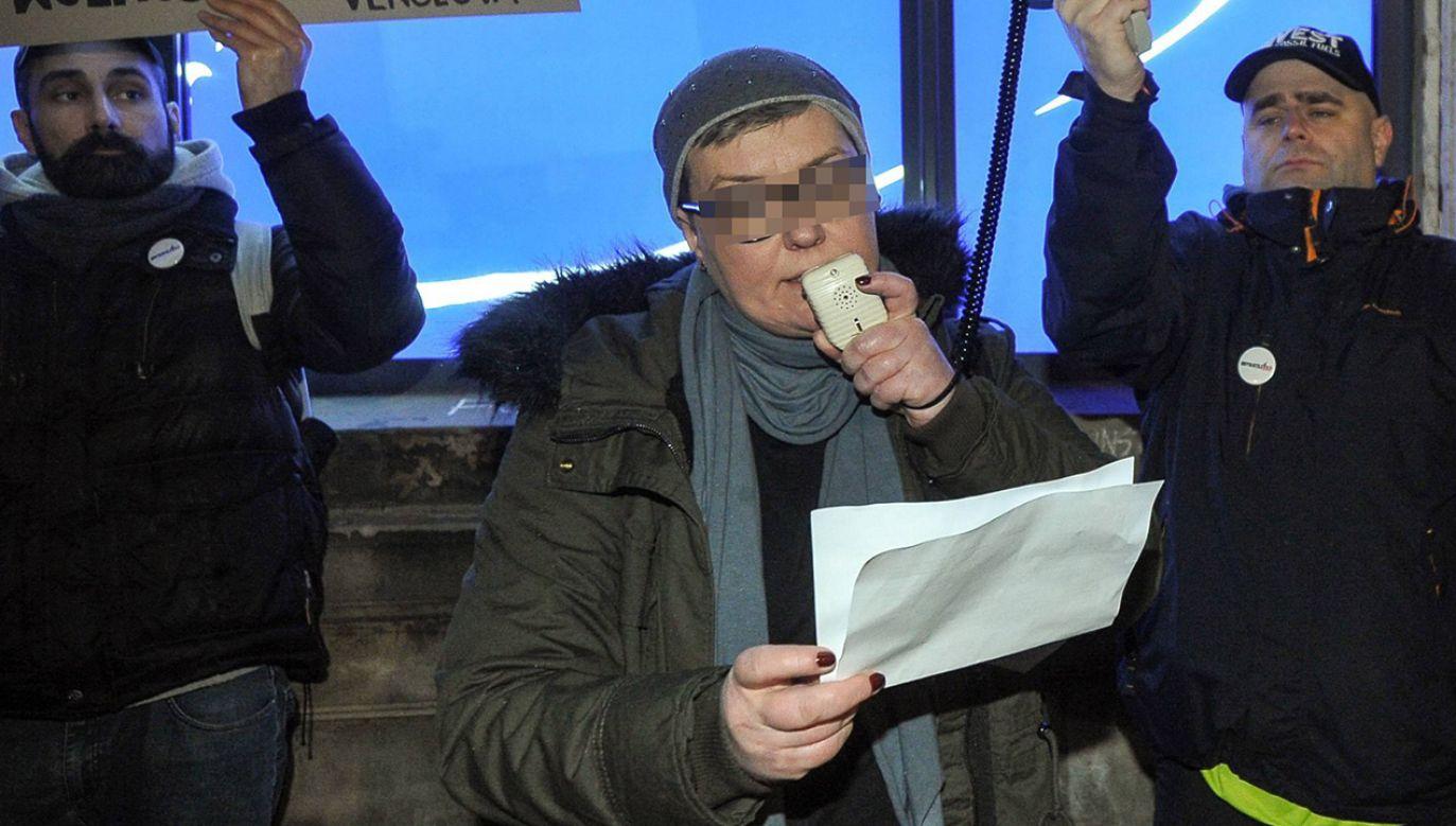 Elżbieta P. jest podejrzana o zniszczenie biur polityków PiS (fot. arch.  PAP/Marcin Obara)