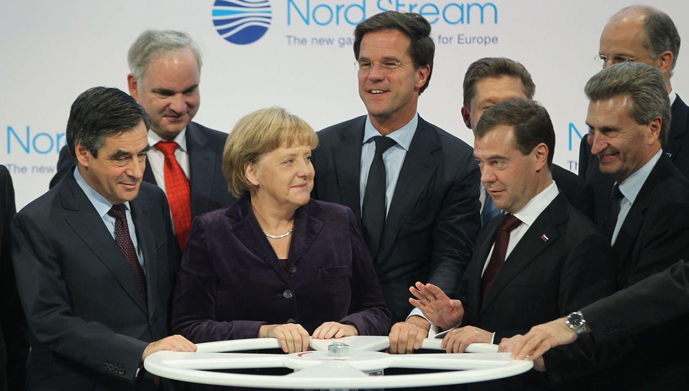 Czy Nord Stream 2 podzieli Europę? (fot. Sean Gallup/Getty Images)