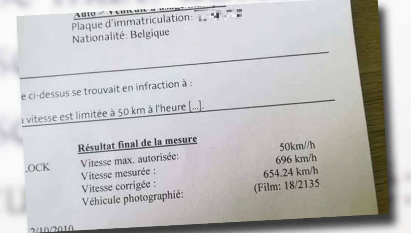 Kierowca się odwołał, twierdząc, że jego Opel nie rozwija takiej prędkości (fot. TT)