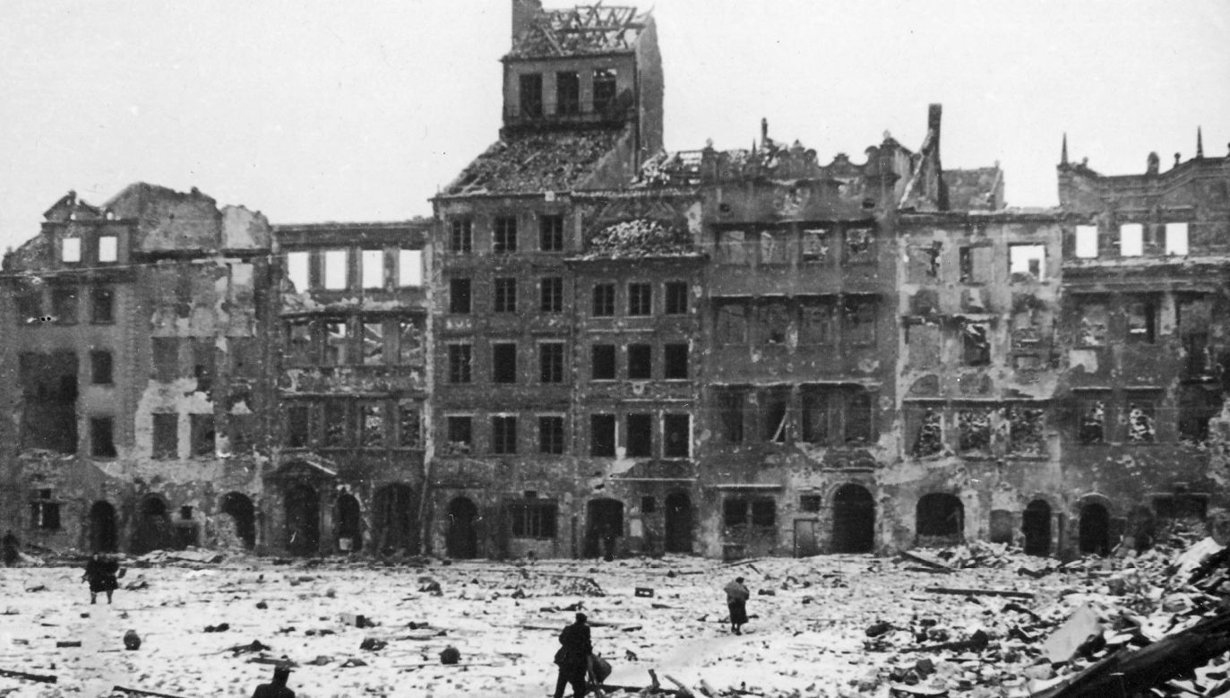 It was noted in the Polish report on war losses caused by Nazi Germany that losses relating to infrastructure and real estate amounted to EUR 12.1 bn. Photo: Wikimedia Commons