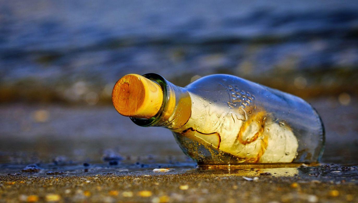 Butelkę znaleziono u wybrzeży Florydy (fot. pixabay/Atlantios)