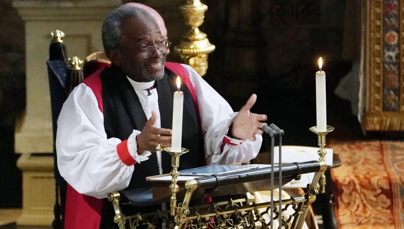 Bp Michael Bruce Curry, prymas Kościoła Episkopalnego w USA (fot. PAP/EPA/Owen Humphreys)