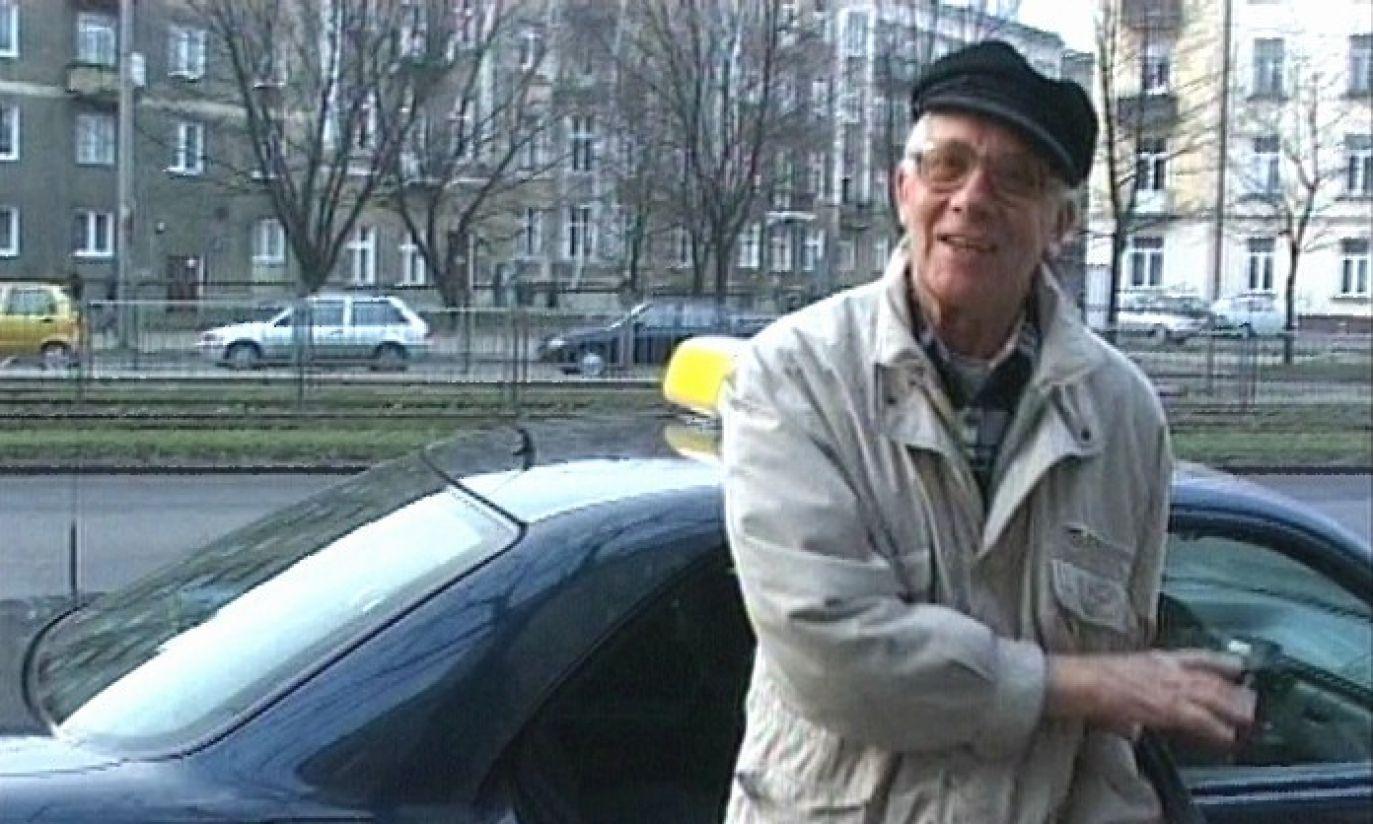 """Jan Suzin w 2007r. w programie """"Taryfa ulgowa"""" (fot. TVP)"""