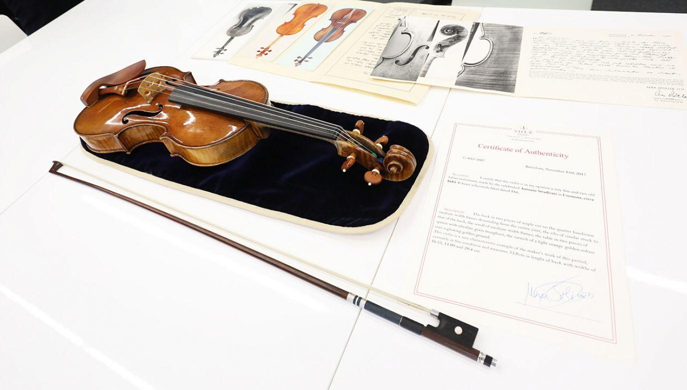 Dokładne badania tego 333-letniego instrumentu wykazały, że wszystkie jego elementy są oryginalne (fot. Materiały prasowe)