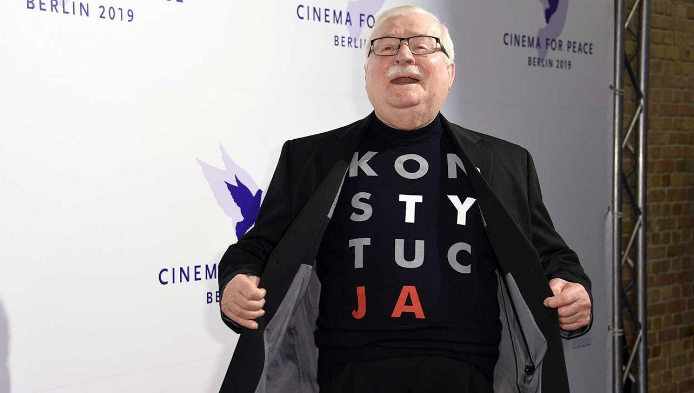 """Lech Wałęsa zamierza kierować wezwania przedsądowe wobec kilkunastu osób za nazwanie go Tajnym Współpracownikiem służb PRL """"Bolkiem"""" (fot. arch. PAP/Nicole Kubelka/Geisler-Fotopress)"""