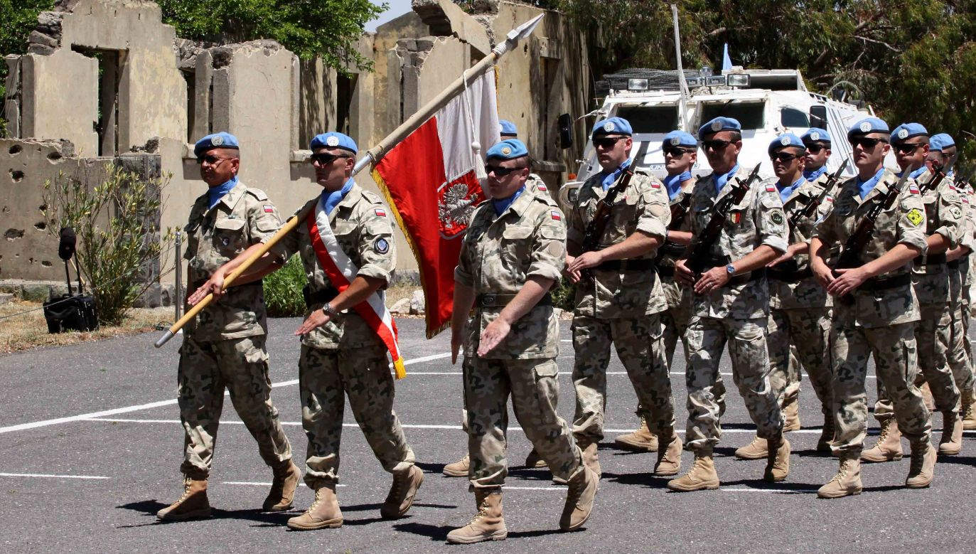 Polish UN-peacekeeping forces left Golan Heights in 2009, vacating its post for the Philippine counterparts. Photo: PAP/Jerzy Undro