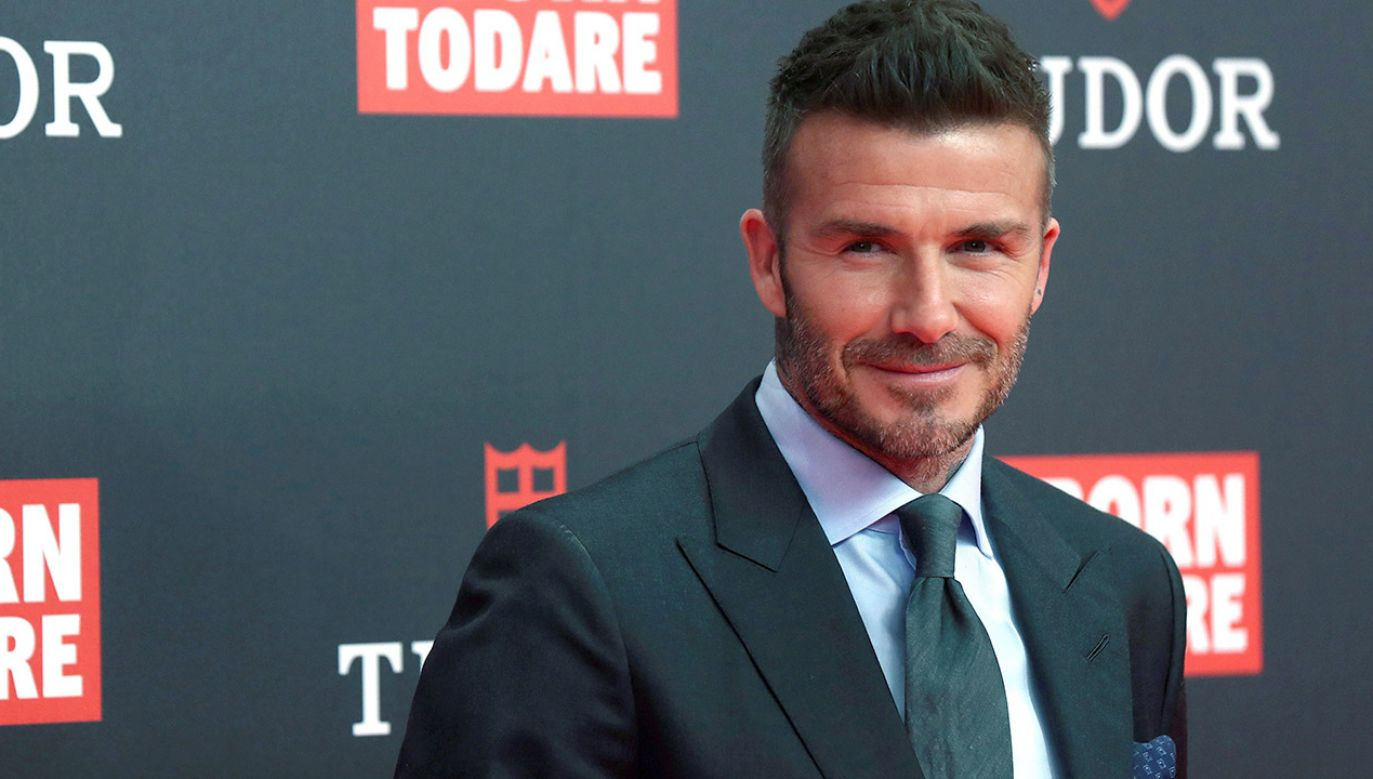 W reprezentacji Anglii Beckham rozegrał 115 meczów, zdobywając 17 bramek (fot. PAP/EPA/Kiko Huesca)
