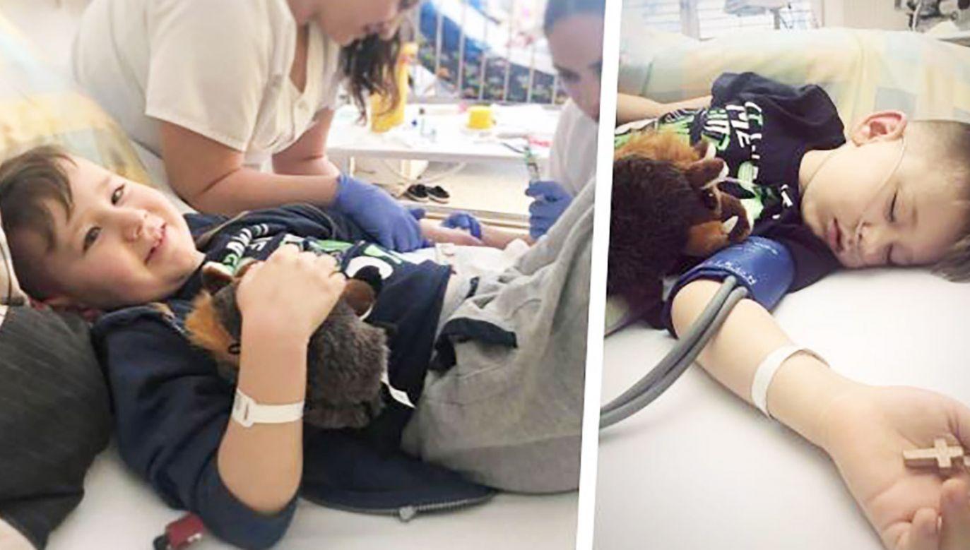 Przez wiele miesięcy lekarze nie byli w stanie prawidłowo zdiagnozować siedmioletniego Kuby (fot. siepomaga.pl)