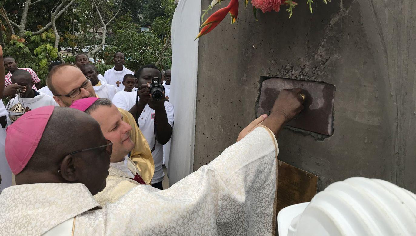 Budynek ma powstać w dzielnicy Diata, na obrzeżach Brazzaville (fot. tt/diecezjatarnow)
