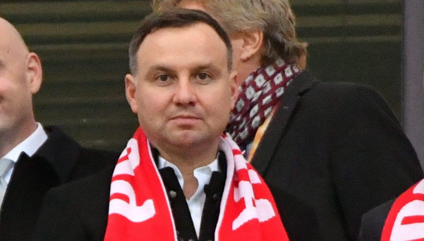 Prezydent nie będzie uczestniczył jako przedstawiciel Polski w mundialu w Rosji (fot. arch. PAP/Bartłomiej Zborowski)